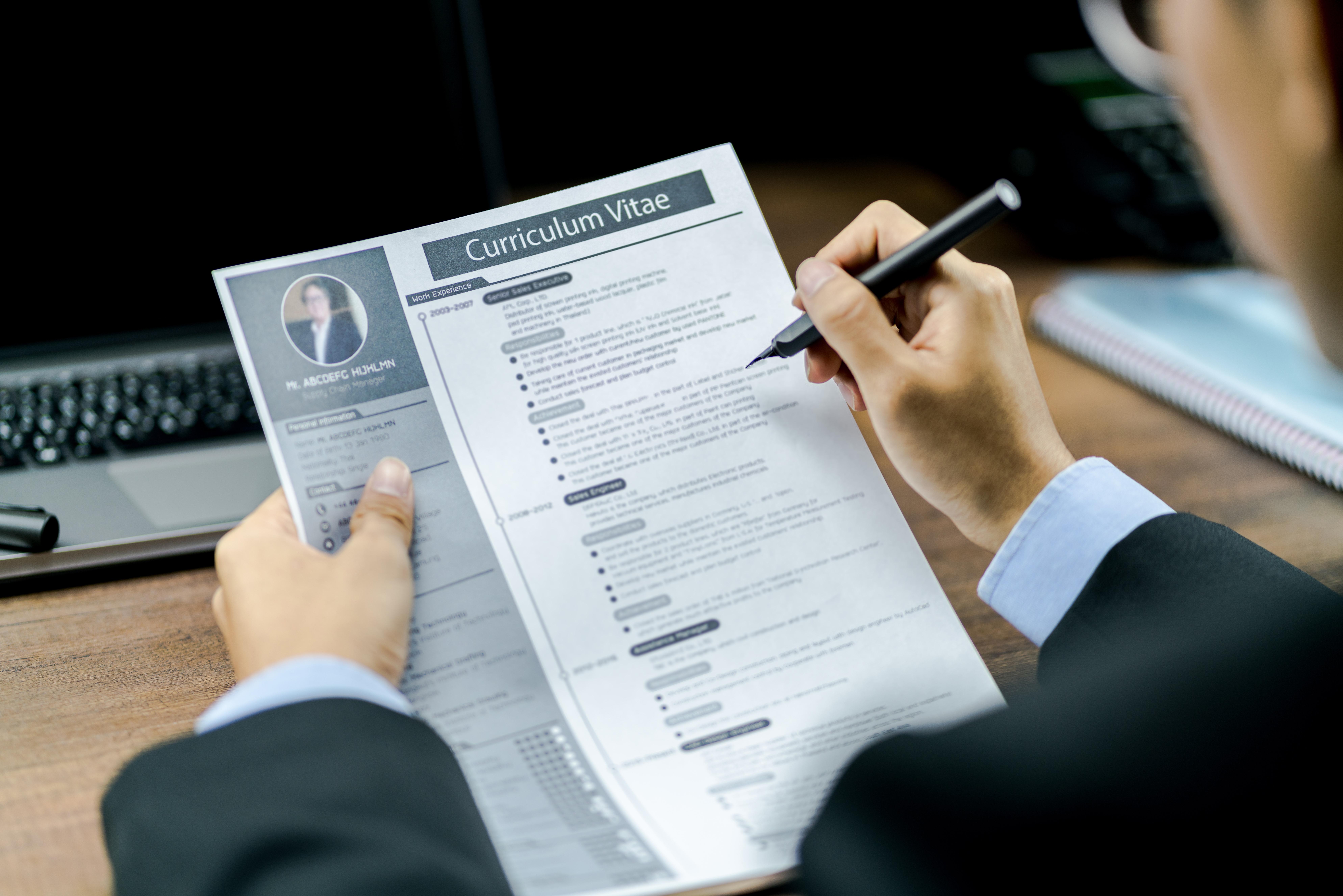 Sprawdź czy Twoje CV jest poprawne!